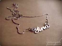 my name jewelry my name necklace yina goes