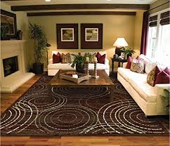 rug runners contemporary contemporary circle rugs 58 brown blue beige circels