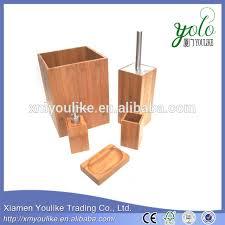 bamboo bathroom accessories china source quality bamboo bathroom