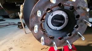 Dodge Ram 4500 - 2014 dodge ram 4500 locking hub conversion customer install part