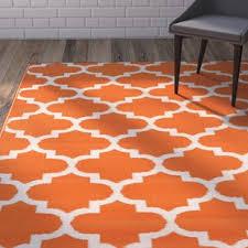 Orange Outdoor Rugs Orange Outdoor Rugs You Ll Wayfair