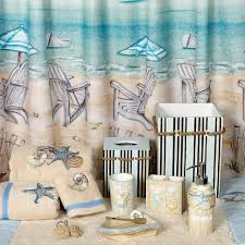 Bathroom Decor Beach Theme by Curtains Coastal Bathroom Accessories Beach House Bathroom Tile