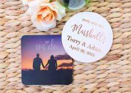 wedding coasters favors personalized wedding favors start your custom wedding favors