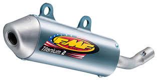 fmf titanium 2 silencer ktm 85 sx xc 105 sx xc revzilla