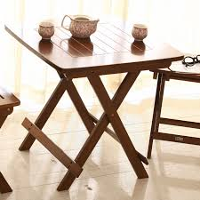 Small Portable Folding Table Usd 53 87 Bamboo Court Leisure Table Folding Table Portable