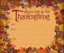thanksgiving day invitation templates happy thanksgiving