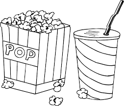 top 84 popcorn coloring pages for itgod me