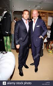 jeremy piven and domenico vacca cocktail party at domenico vacca