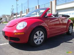 red volkswagen convertible 2009 salsa red volkswagen new beetle 2 5 convertible 28364576