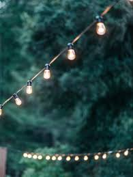 Outdoor Wedding Lights String by That Kind Of Woman Party Planning Pinterest Ana Rosa Lights