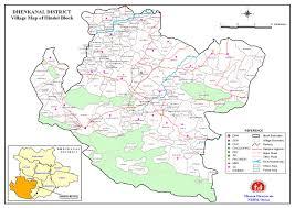 Map Of Al Maps Of Dhenkanal