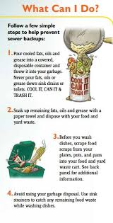 at your service no garbage recycling food and yard waste