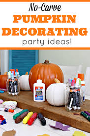 No Carve Pumpkin Decorating Ideas No Carve Pumpkin Decorating Ideas Mom 4 Real