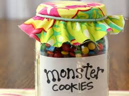monster cookies in a jar recipe grandchildren grandparents