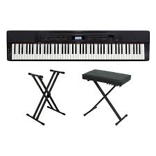 On Stage Keyboard Bench Casio Electric Digital Pianos