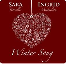 songs about winter from bareilles ingrid michaelson