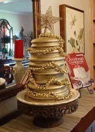 D Christmas Tree Cake - upcycled kitchen christmas tree hometalk