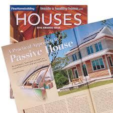 finehomebuilding fine homebuilding passive house cover john hartman illustration
