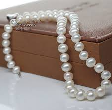 white freshwater pearls necklace images Pearl necklaces white freshwater pearl necklace 8 9mm jpg