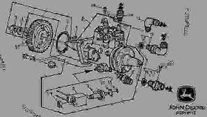 fuel injection pump 03h16 引擎 john deere 3029 engine 2 9l