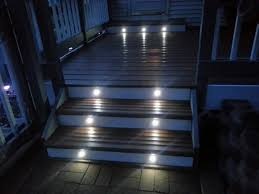led deck stair lights doherty house great ideas deck stair lights