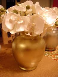 Gold Vases For Weddings Gold Spray Paint For Glass Google Search Jessica U0027s Wedding