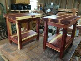 How To Make End Tables by Cedar End Tables Foter