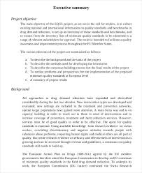 template for summary report executive summary report template business template