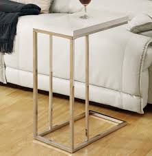 monarch specialties accent table monarch specialties 3008 rectangular accent table in chrome glossy