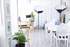 home photography studio clean and bright inside a photographer s home studio space the