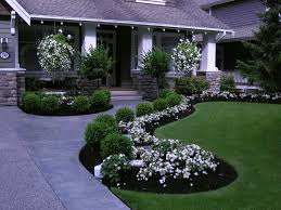 Modern Front Yard Desert Landscaping With Palm Tree And Best 25 Front Yards Ideas On Pinterest Front Landscaping Ideas