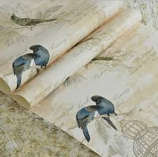 bird wallpaper home decor buy 3d flower wallpaper woven and get free shipping on aliexpress com