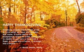 happy thanksgiving quote for friends quote number 564777 picture