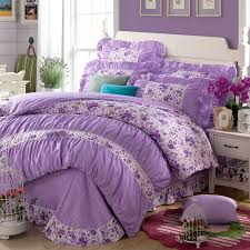 Girls King Size Bedding by Yadidi 100 Cotton Girls Princess Purple Bedding Sets Bedroom Bed