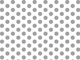 silver and white polka dots tissue paper 20 inch x 30