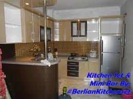 kitchen set minimalis modern design kitchen set mini bar kitchen design ideas