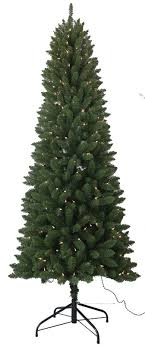 santa s workshop 7 5 pvc slim artificial tree with 350