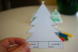 how to make a paper christmas tree i love inspire d