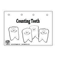 brush your teeth please teeth and dental health crafts and