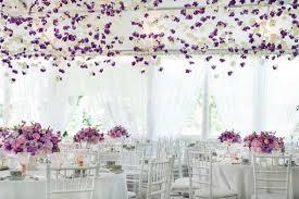 mariage deco idées de décoration salle de mariage avec des fleurs