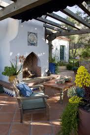 mediterranean garden retreat in santa barbara margie grace