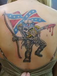 Rebel Flag Eagle Tattoo Wolf And Rebel Tattoos For Men Pictures To Pin On Pinterest