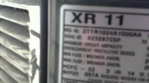 100 american standard condenser unit service manual air