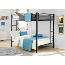 Camper Bunk Bed Sheets by Dorel Full Over Full Metal Bunk Bed Multiple Finishes Walmart Com