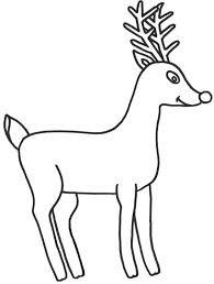 draw rudolph red nosed reindeer coloring color luna