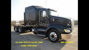 used t600 kenworth for sale 2010 kenworth t660 from used truck pro 866 481 8543 youtube