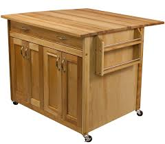 drop leaf kitchen island cart catskill craftsmen island with flat panel doors