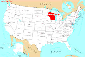 Map Of Wisconsin With Cities by Wisconsin On Map Wisconsin Map