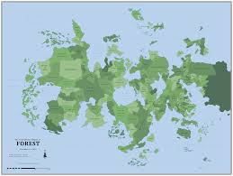 Okefenokee Swamp Map Nationstates Dispatch The Regional Map Of Forest