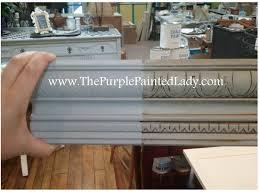 annie sloan chalk paint paris grey cabinets glaze the purple painted lady